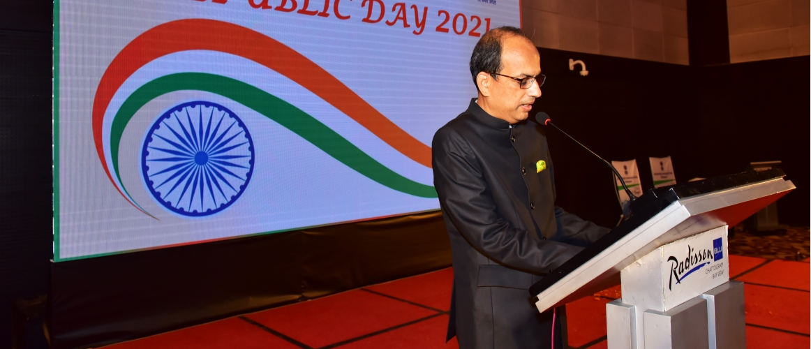Speech by AHC at the evening Reception to mark the Republic Day of India 2021
