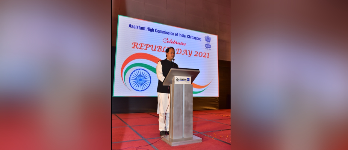 Speech by Hon'ble Member of Parliament, Deputy Minister of Education, Government of Bangladesh Mr. Mohibul Hasan Chowdhury Noefel on the occasion of Republic Day 2021